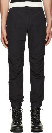 08sircus , Navy Cotton Trousers
