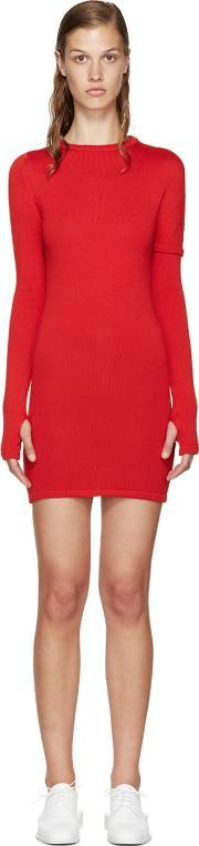 Jacquemus , Red Knit Dress