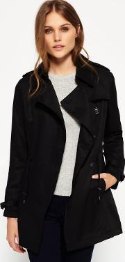 Superdry , Draped Trench Coat