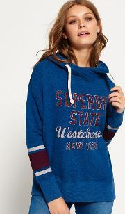 Superdry , Graphic Wrap Front Slouch Hoodie