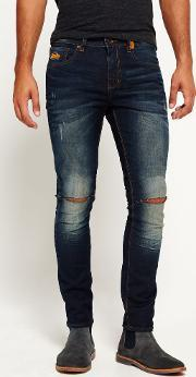 Superdry , Standard Skinny Ripped Jeans