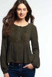 Superdry , Roswell Lacy Blouse