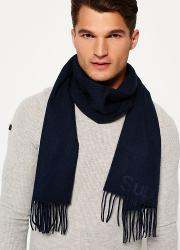Superdry , Solid Capital Tassel Scarf