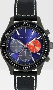 Ted Baker , Chronograph Watch Black