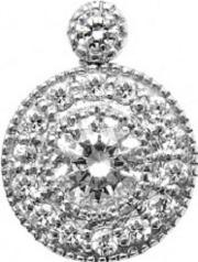Mastercut , 18ct White Gold Diamond Cluster Pendant C6pe001 020w