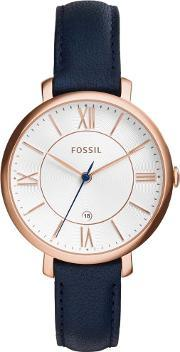 Fossil , Ladies Jacqueline Rose Gold Watch Es3843