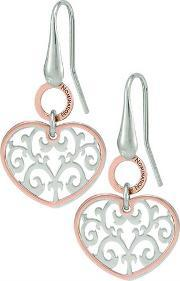 Nomination , Romantica Rose Gold Plated Dropper Earrings 141550 004
