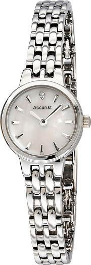 Accurist , Ladies Mother Of Pearl Dial Watch Lb1407p