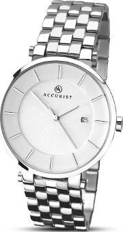 Accurist , Mens Stainless Steel Watch 7091