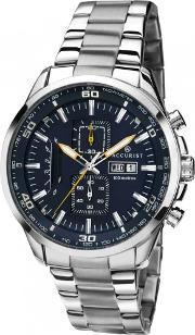 Accurist , Mens Steel Chronograph Watch 7005