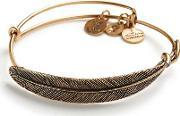 Alex And Ani , Quill Feather Bangle A09eb130rg