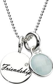 Chrysalis , Silver Friends Forever Pendant Crnm39silv10-40
