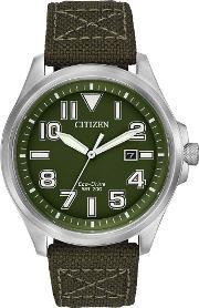 Citizen , Men's Eco-drive Military Watch Aw1410-16x