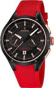 Festina , Mens Chronograph Strap Watch F168331