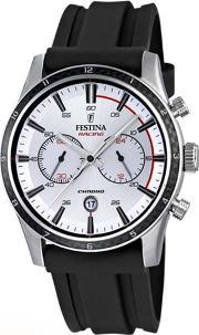 Festina , Mens White Chronograph Watch F16874f