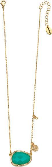 Fiorelli Costume , Ladies Gold Plated Crystal Glass Necklace N3785