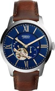Fossil , Mens Townsman Automatic Strap Watch Me3110