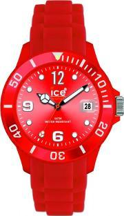 Icewatch , Ice-watch Mens Red Big Dial Watch Si.rd.b.s.12