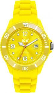Icewatch , Ice-watch Neon Yellow Rubber Strap Yellow Dial Watch Ss.nyw.b.s.12