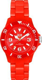 Icewatch , Ice-watch Unisex Red Plastic Red Watch Sd.rd.u.p.12