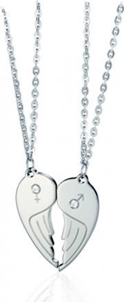 Nomination , Me And You Steel Cz Wing Double Pendant 024200-0 019