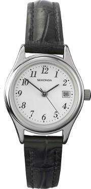Sekonda , Ladies Black Strap Watch 4081