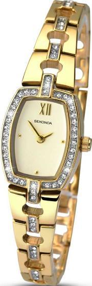 Sekonda , Ladies Gold Plated Watch 2241