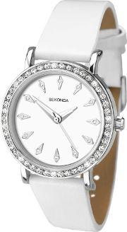 Sekonda , Ladies White Strap Watch 2024