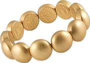 Sence , Signature Gold Plated Multi Circle Bracelet V314