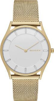 Skagen , Ladies Holst Gold Watch Skw2377