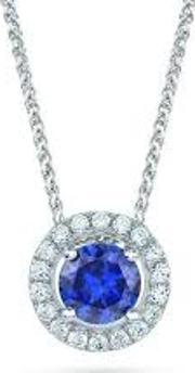 The Real Effect , Cubic Zirconia Cluster Pendant Re13854 Sp Cz