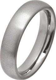 Ti2 Titanium , Mens 6mm Polished Oval Ring T.lr1250.g V