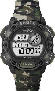 Timex , Mens Expedition Shock Watch T49976