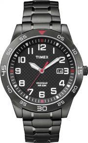 Timex , Mens Fieldstone Way Bracelet Watch Tw2p61600