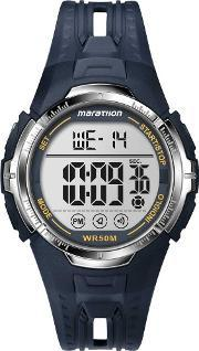 Timex , Mens Marathon Navy Watch T5k804