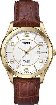 Timex , Mens Traditional Strap Watch T2p449