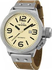 Tw Steel , Mens Automatic Strap Watch Twcs16