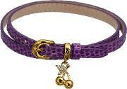 Guess , Purple Leather Bracelet Ubb71245