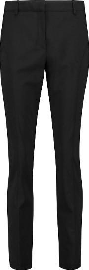 Pringle Of Scotland , Stretch Wool Tapered Pants
