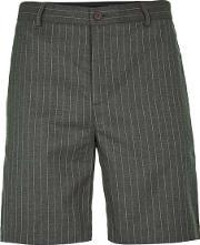 Rogues Of London , Mens  Brown Stripe Shorts