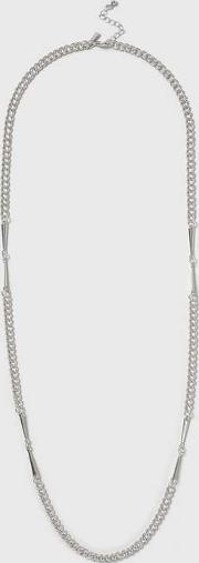 Topshop , Womens Link Chain Long Necklace