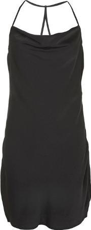 Wyldr , Womens Superstitious Black Cowl Dress By