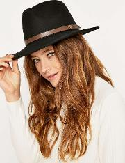 Christys London , Crushable Safari Hat, Black