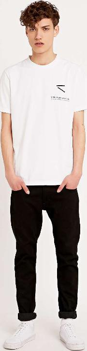 Lhomme Rouge , L Homme Rouge Printed Tee In White White