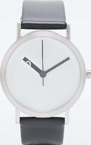Normal , Extra Grande Watch In Black And White Black