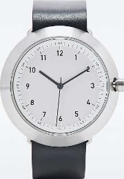 Normal , Fuji Watch In Black And Silver Black