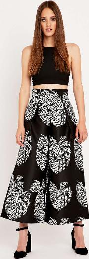 Solace , Palm Print Evelyn Culottes Assorted