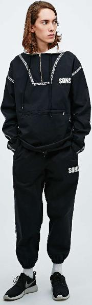Sons , Drill Joggers In Black Black