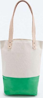 Flea Bags , X Uo Tote Bag In Ivory And Green Ivory