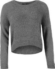 Golddigga , Teddy Knit Jumper Ladies
